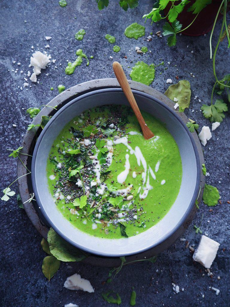 Thai Green Pea Soup
