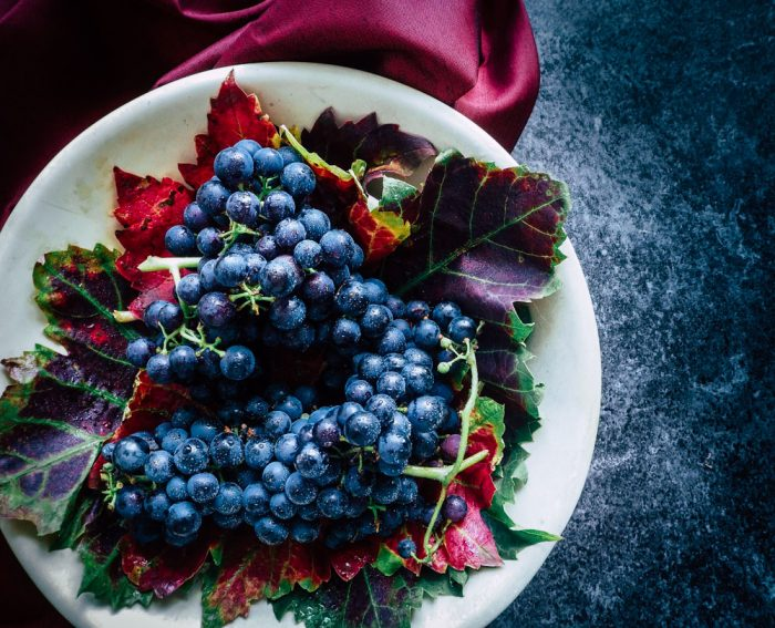 The Well-Seasoned Series: Roasted Grape and Cambozola Crostini