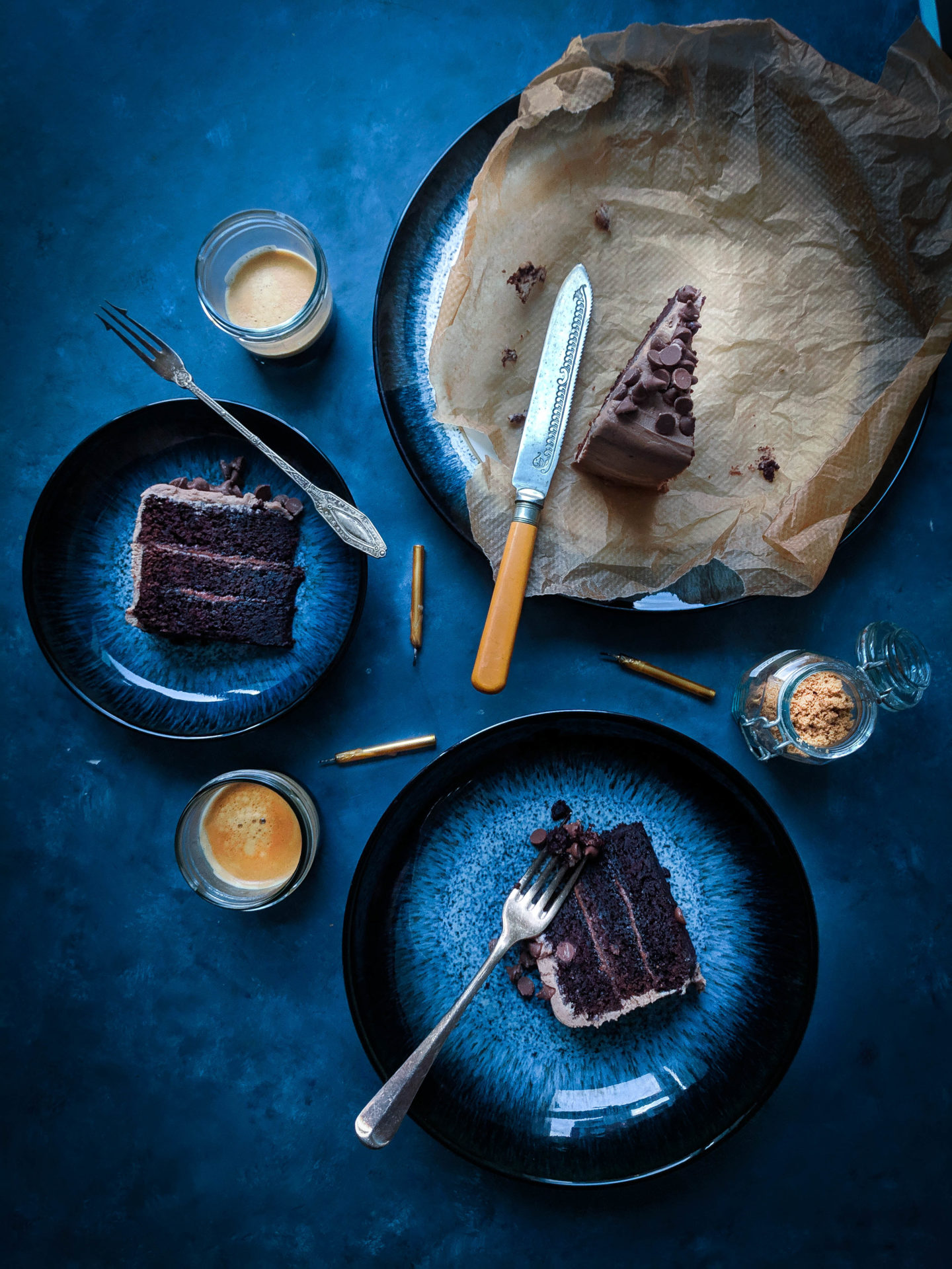 Flourless Chocolate and Hazelnut Butter Cake